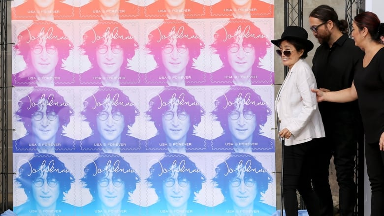 Image result for john lennon commemorative stamps