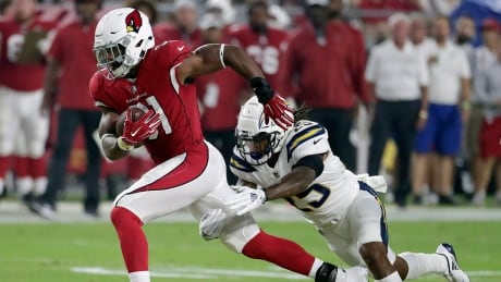 Cardinals lock up RB David Johnson on eve of NFL's opening Sunday