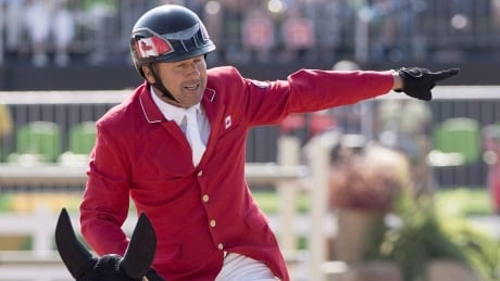Canada's Eric Lamaze finishes 7th at CP International from Spruce Meadows