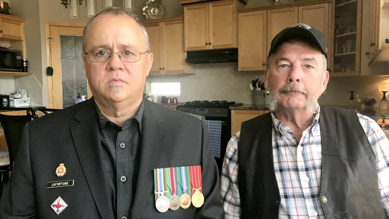 Left owing thousands in back taxes, an Alberta veteran calls for federal changes Joseph-lafortune-allan-hunter-veterans-affairs-calgary
