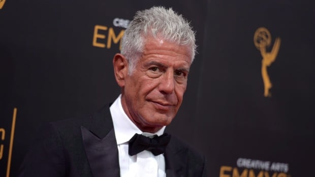 Anthony Bourdain earns 2 posthumous Emmys for Parts Unknown food-and-travel show | CBC News