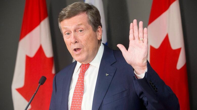 John Tory says it's time for Toronto to declare a climate emergency