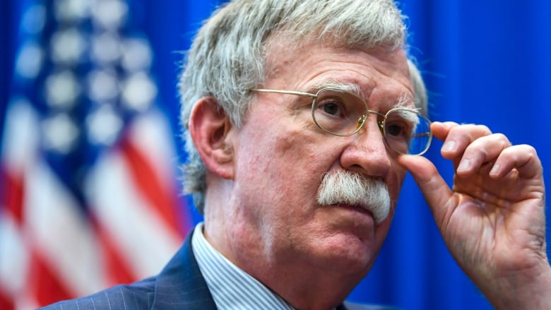 National security adviser John Bolton says international court 'dead to us'