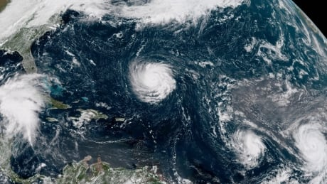 'Potentially deadly' Hurricane Florence sets its sights on Carolinas