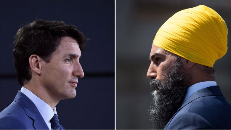 Trudeau's challenge to Singh on Quebec's Bill 21 has risks