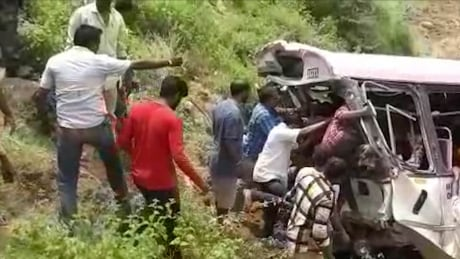 India Bus Crash