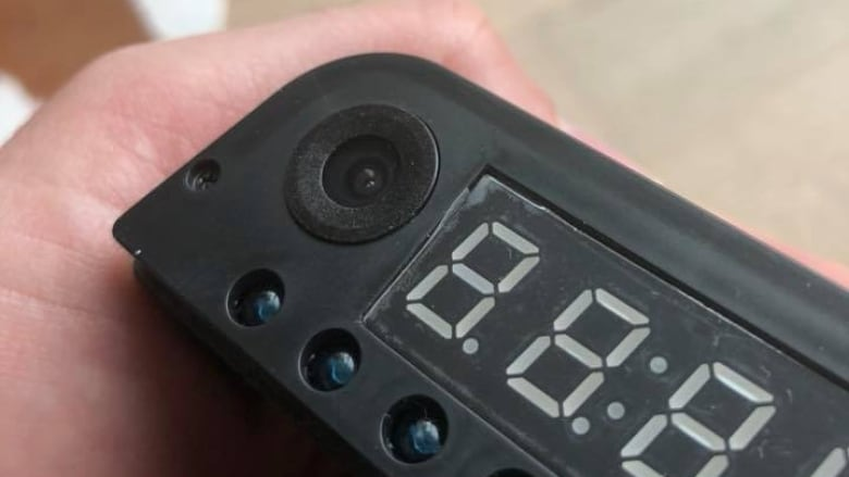 Couple visiting Toronto says they found a hidden camera in