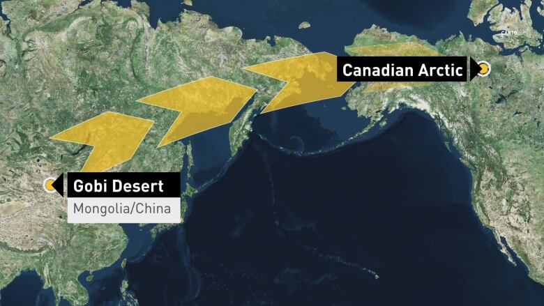 News Asian Desert Dust Could Be Warming Arctic Sea Surface The