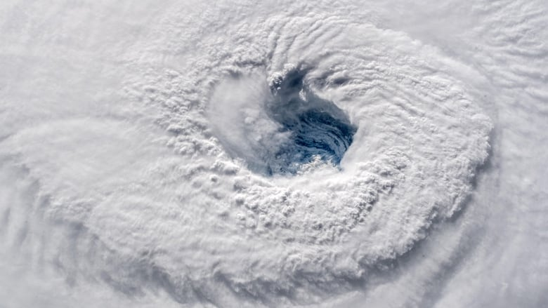 ISS images show massive Hurricane Florence from 400 km up