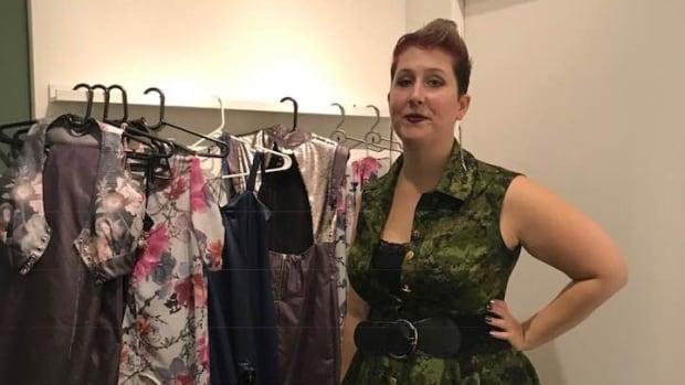 'I belong here': Cinderella story for Alberta designer at New York Fashion Week | CBC News