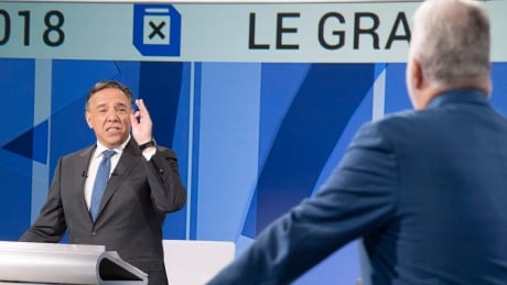 Quebec's election campaign awakes from slumber with spirited, even racy debate