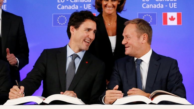 Canada Eu Trade One Year On Canadas Imports Are Rising Faster