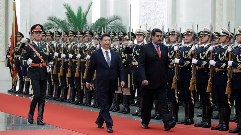 Image result for Beijing Denies Sending Troops To Venezuela