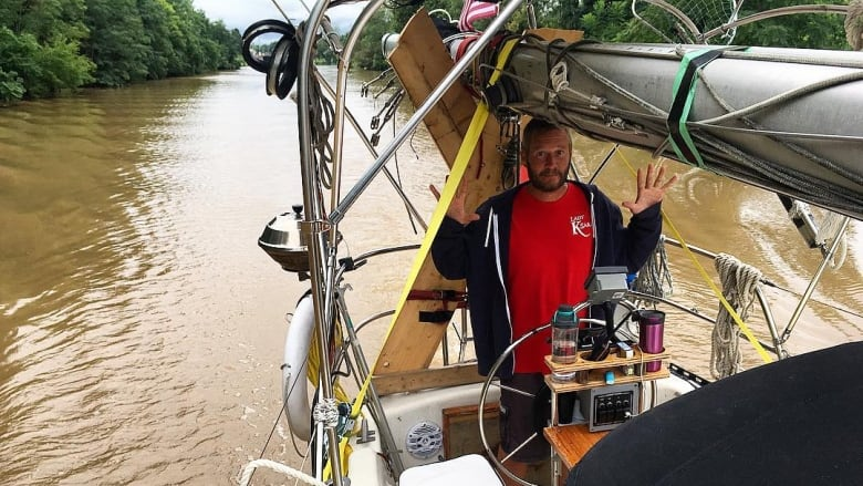 Chatham couple sells everything to sail, only to meet