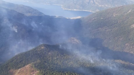Caution urged as people head back into wildfire affected areas in B.C.
