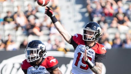 Mitchell shines as Stamps take 14th straight against Ticats