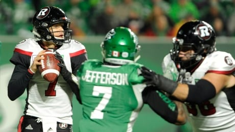 Redblacks' dynamic duo power past Roughriders