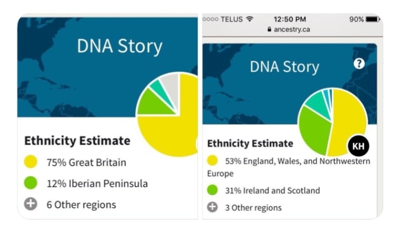 Did your Ancestry com DNA results change dramatically