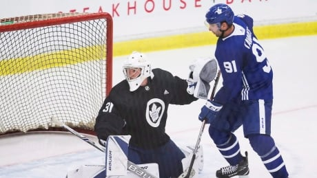 In anticipation of playoff success, Maple Leafs' Andersen settles in for the long haul