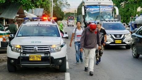 Colombia-Venezuela migration