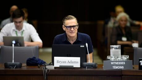 Bryan Adams at Heritage Committee