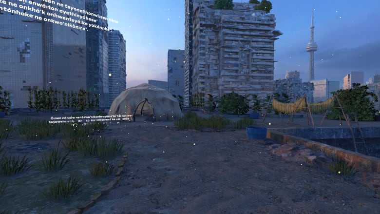 Imagine if Toronto were reclaimed by nature. This Indigenous futurism VR  experience takes you there 9432e37f4e