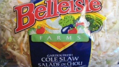 Belleisle Farms brand coleslaw recalled due to Listeria