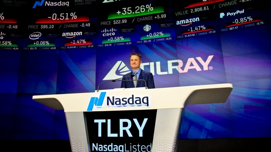 cbc.ca - CBC News - Nasdaq halts trading in Tilray after pot stock doubles in 2 days