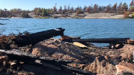 Cleaning up from Parry Sound 33 — 'Everything was ash. Everything that could burn was gone'