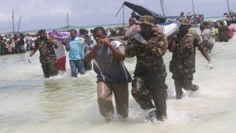 Tanzania Lake Victoria Ferry Rescue