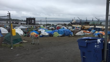 Nanaimo tent city ordered to shut down within 21 days
