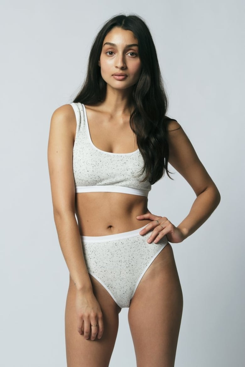 37b1aa06481 Toronto designer Mary Young launched her namesake lingerie brand in 2014.  She focuses on comfort in both her designs and the materials used, creating  pieces ...