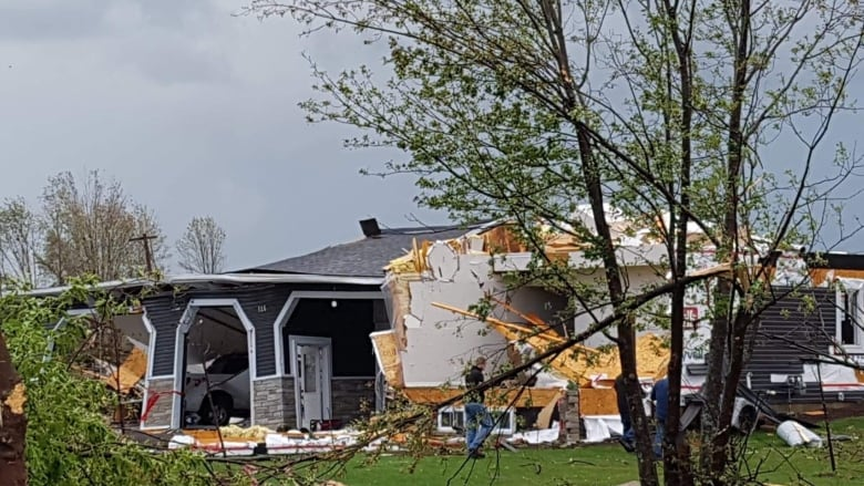 Tornado batters area near Canadian capital Ottawa, damaging homes and injuring dozens