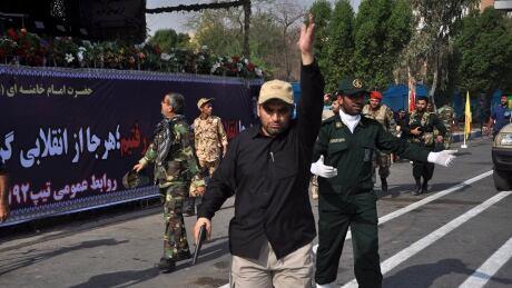 Gunmen attack Iran military parade, killing 25