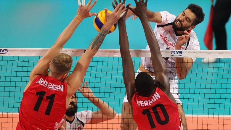 Canada eliminates Iran at volleyball worlds, ending 3-game ...