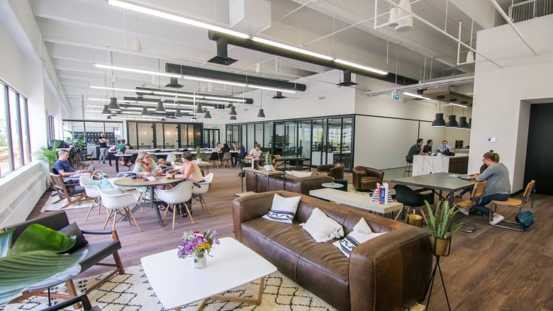 A Co Working Space In Regina. Public Service And Procurement Canada Is  Considering Similar Spaces For Public Servants In The National Capital  Region, ...