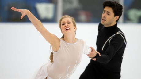 Canadian ice dancers Weaver, Poje win gold at Autumn Classic