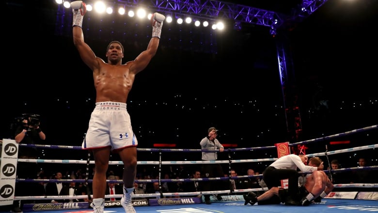 Anthony Joshua demolishes Alexander Povetkin to keep heavyweight titles