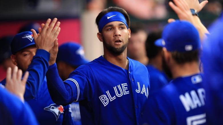 Lourdes Gurriel Jr. was 3-4 with 2 runs scored and a pair of RBI in a 20-6 loss to the Yankees