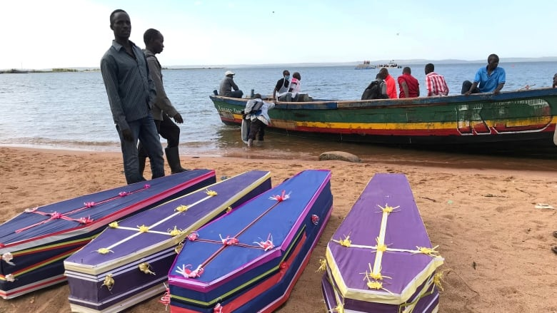Burials begin for victims of Tanzania ferry disaster that