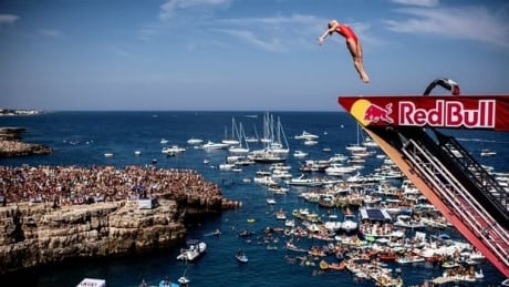 Lysanne Richard wins silver in season-ending Red Bull Cliff Diving World Series