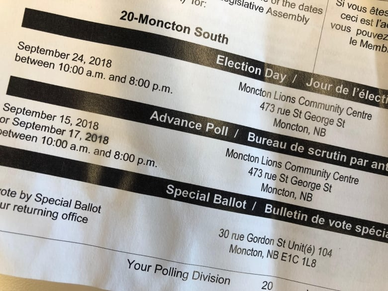 Heading to the polls voting tips for election day cbc news