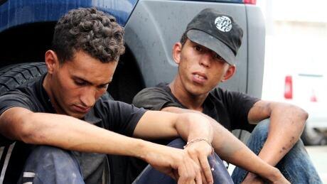 Melilla migrants caught