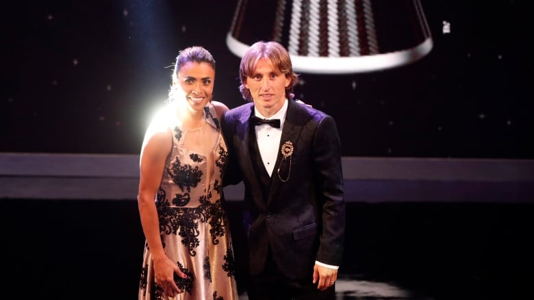 Modric and Marta win Best FIFA player 2018 awards