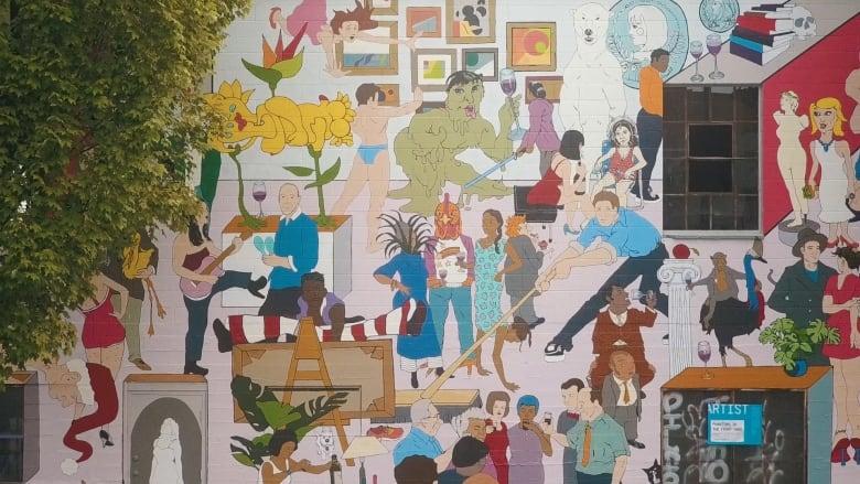 Muralist Vancouver