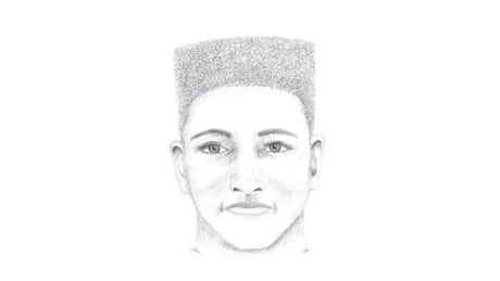 Surrey RCMP release sketch of suspect in cab driver attack