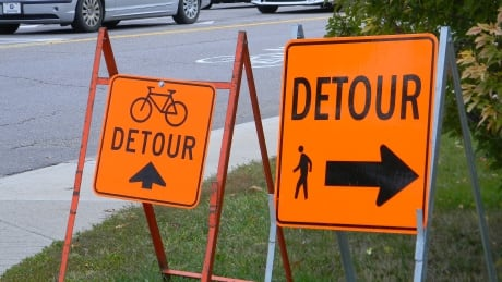 Calgary's 'flat-footed' pathway detours could get fixed this proposed policy passes