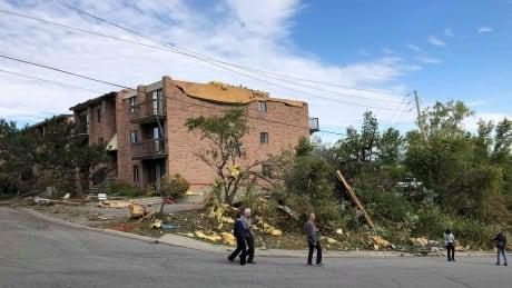 Gatineau storm damage
