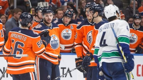 Canadian NHL roundup: Rattie earns hat trick as Oilers blank Canucks