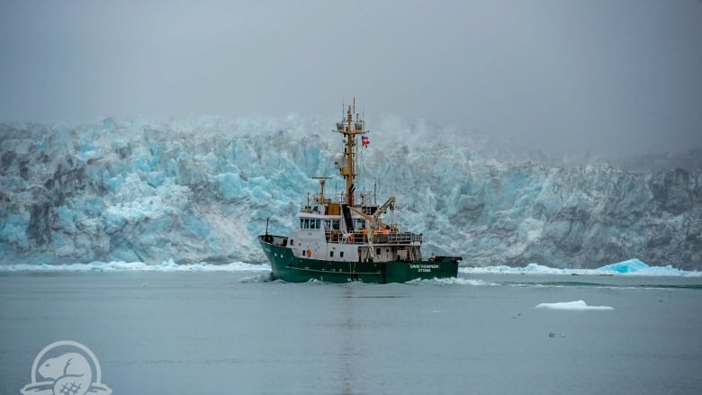 Parks Canada battles Arctic ice to explore crumbling wreck